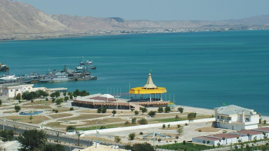 International sea port