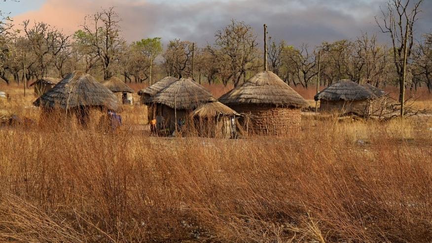 Houses in Rural Ghana