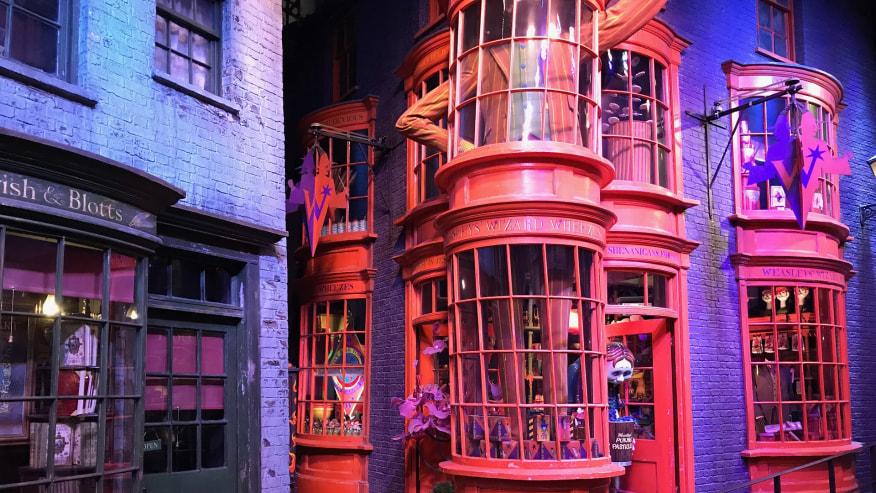 Walk into Harry Potter