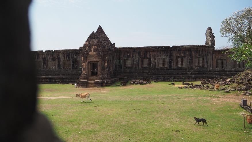 Historical Temple Ruins - Wat Phu