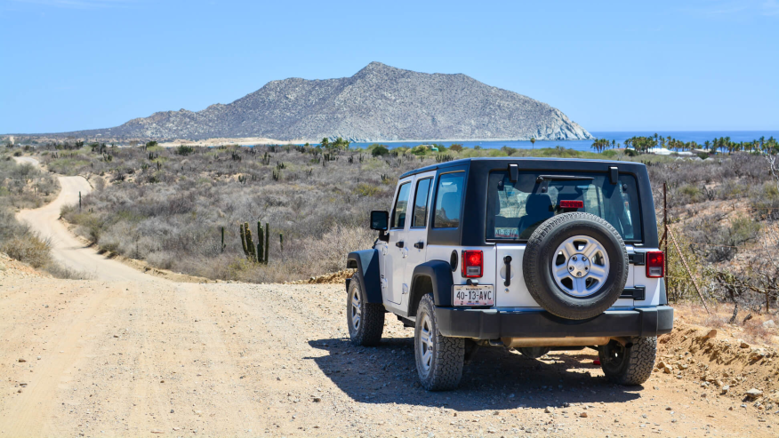 Your very own 4X4 on the Baja Desert