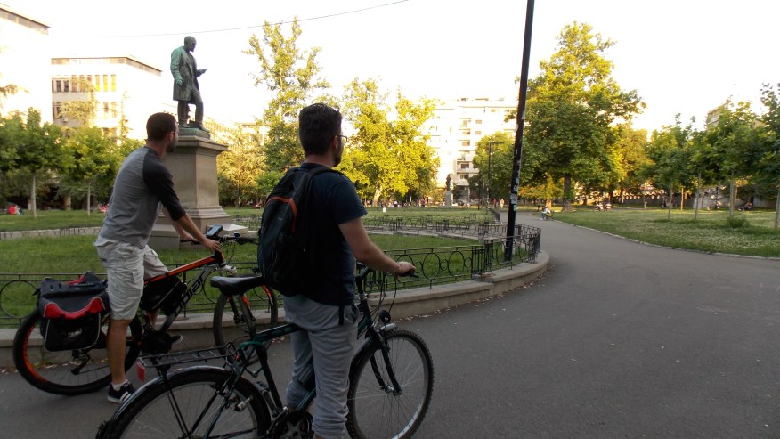 Go cycling in Belgrade