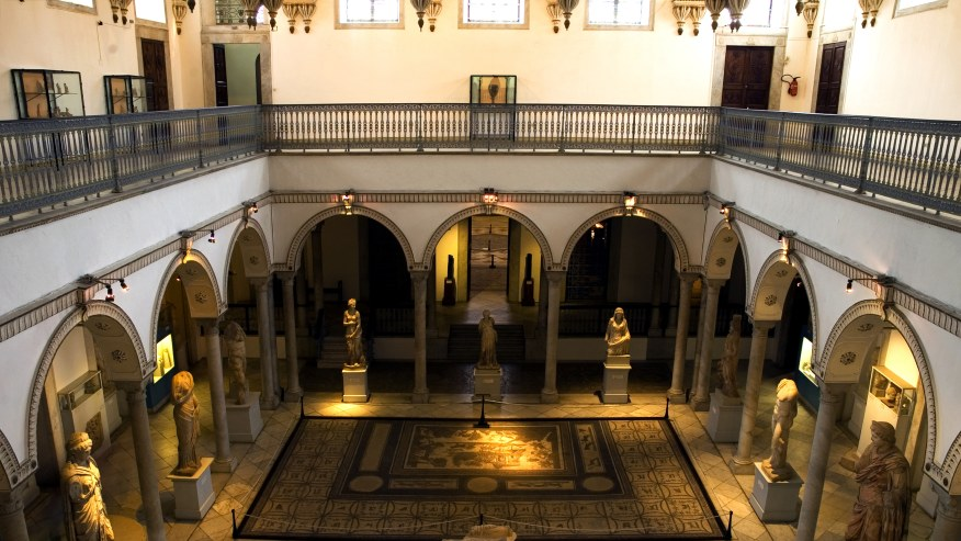 Inside view of Bardo Museum