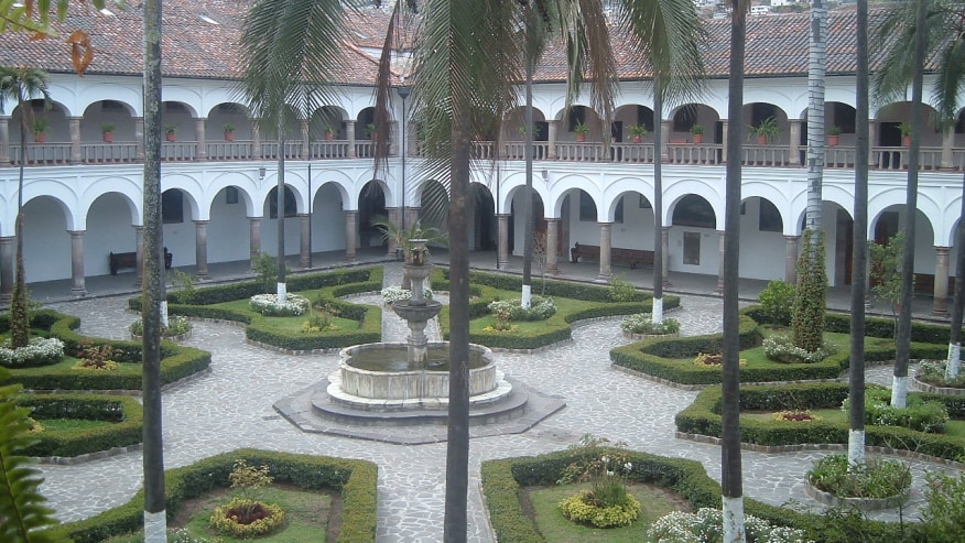 The architectural traces of Quito