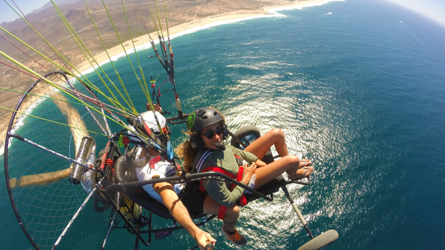 Glide Across The Skies On A 35 Min Powered Paragliding Flight Over Baja In Cabo San Lucas Tour In Cabo San Lucas With Guides From Tourhq