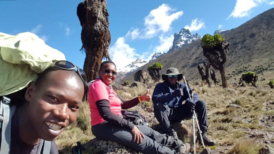 Sirimon Route, Mt Kenya.