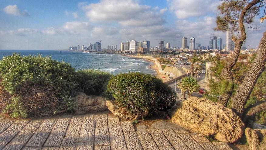 Panoramic view of Tel-Aviv from Jaffa