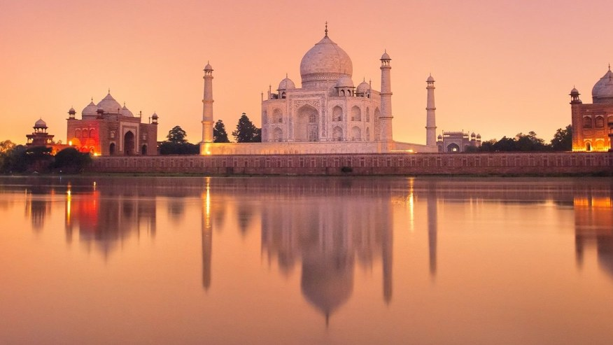 Stop by the Taj Mahal for a Sunrise View