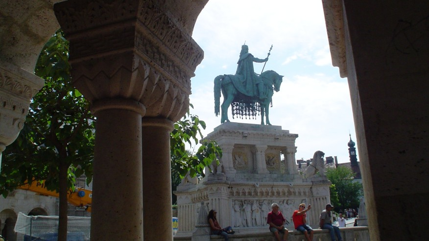 in the Buda Castle district