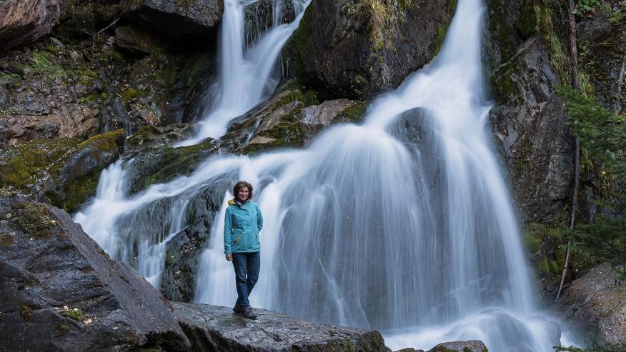Waterfall in near Chibit