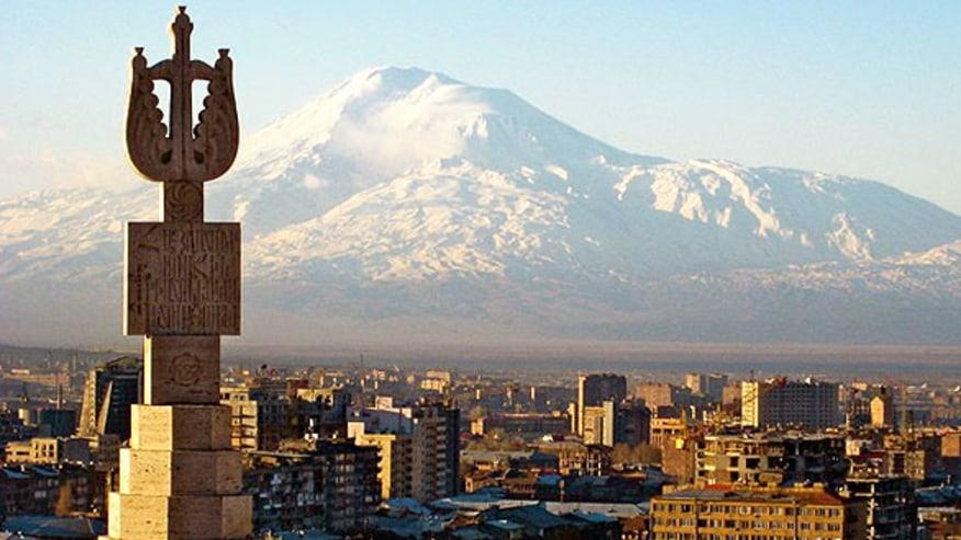 Mount Ararat view from Cascades