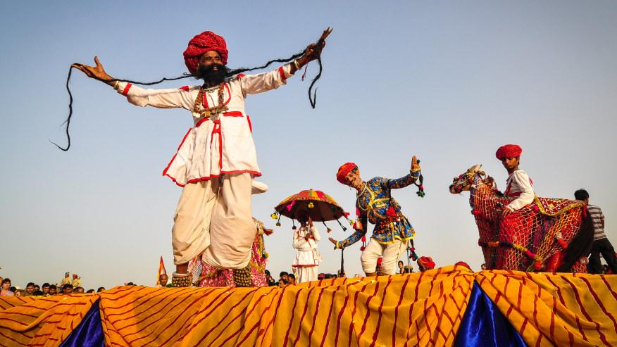 Rajasthani dance performance