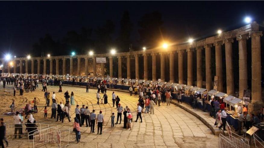 Jerash Festival Site