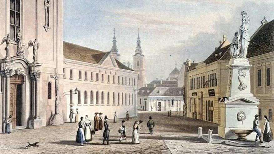 Old Budapest Kalvin ter