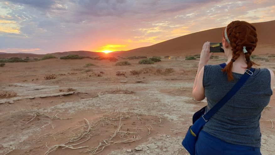 Sossusvlei Dunes-Namib Desert