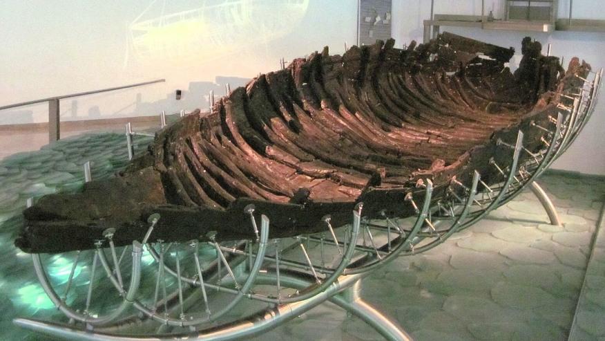 The 2 Milennia old fishing boat
