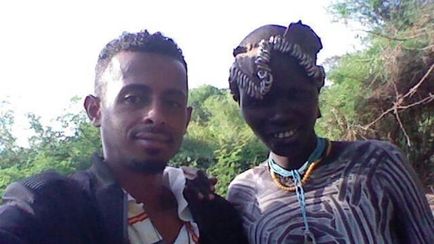 meeting tribal member