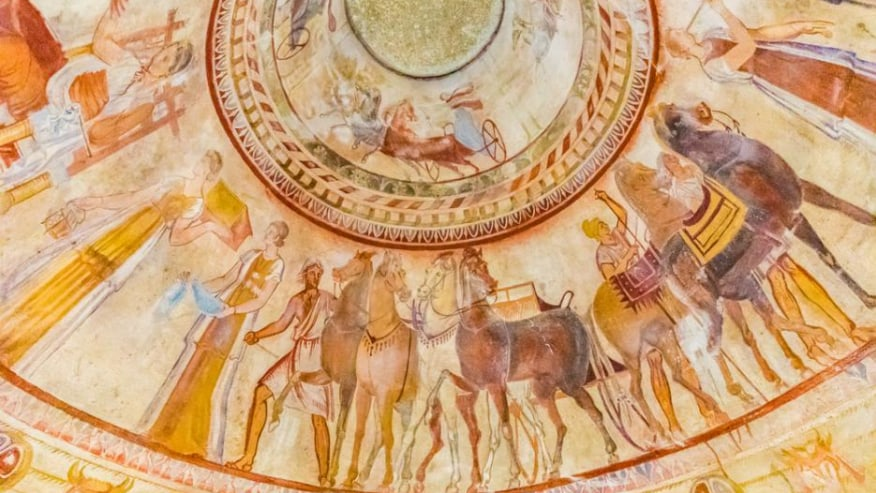 Thracian Tomb Frescoes