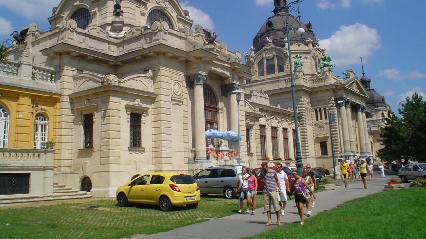 The Szechenyi Spa
