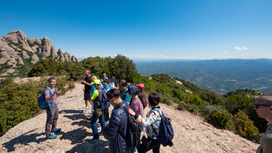 Panoramic Views from atop Montserrat