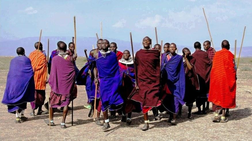 Masai Tribe in Masai Mara