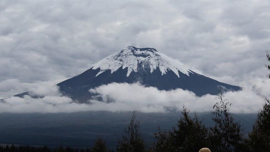 The volcano