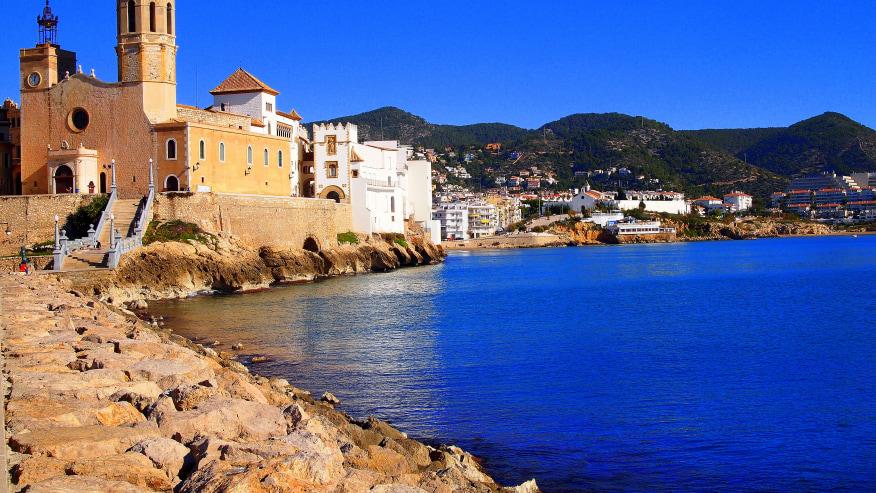 Coastal village of Sitges