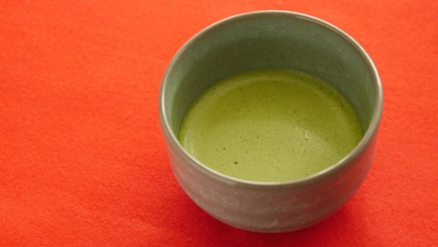Sip on some Matcha at the end of your tour