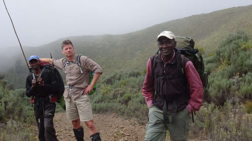 Challenge yourself by the trail encircling Mt Longonot