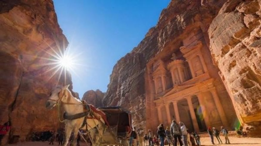 Petra - one of the seven wonders