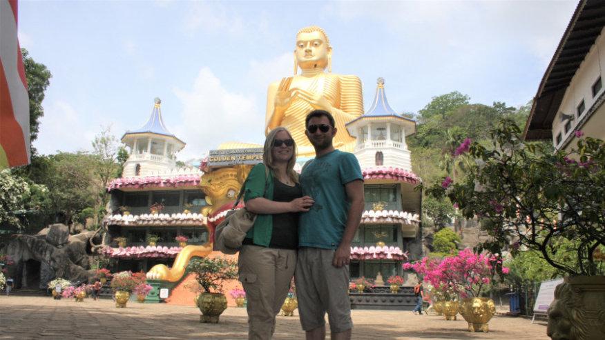 Dambulla Cave & Golden Temple