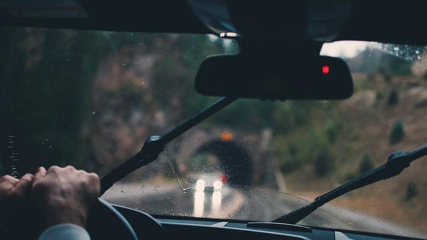 Drive through biblical land