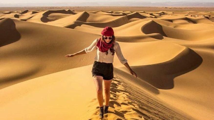 explore the sand dunes