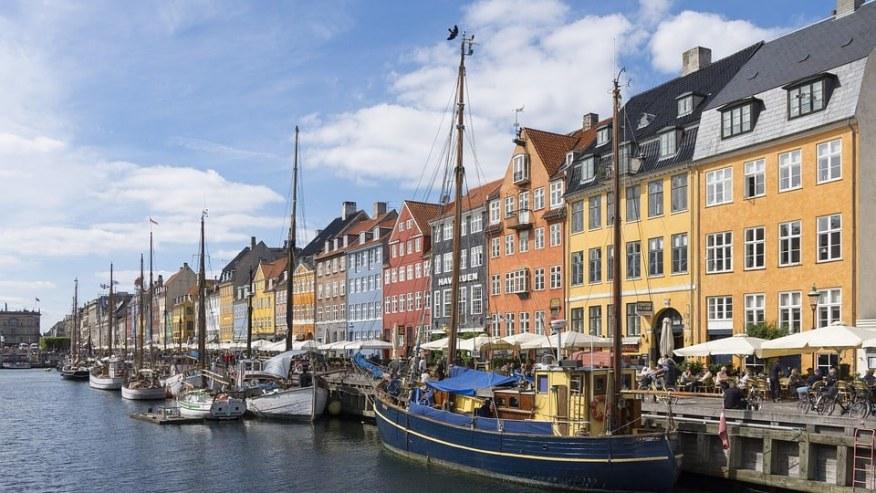 Boat pier of Copenhagen