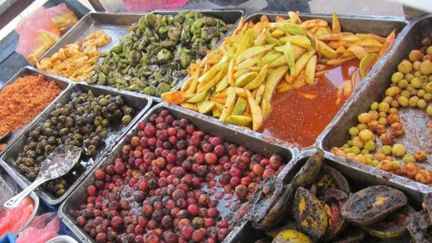 Appetizing street food
