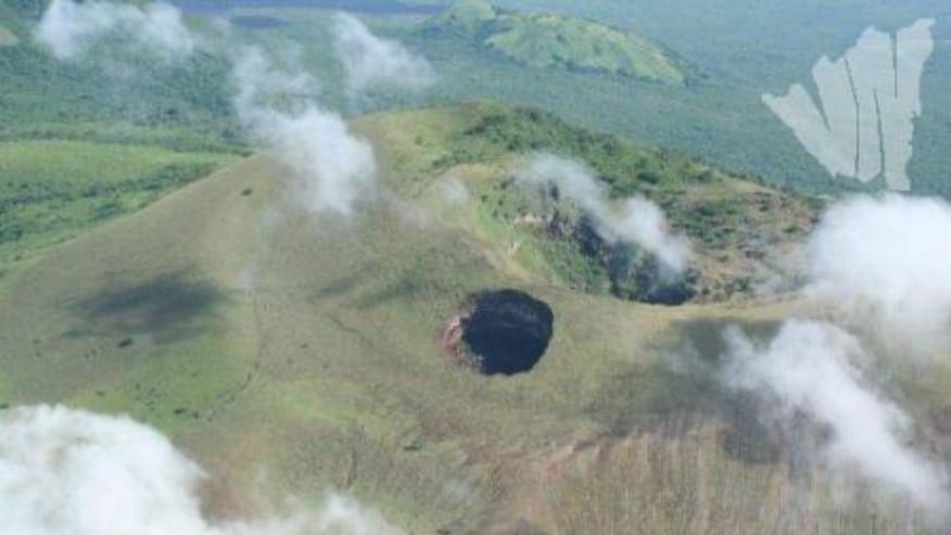 The crater of Las Pilas volcano