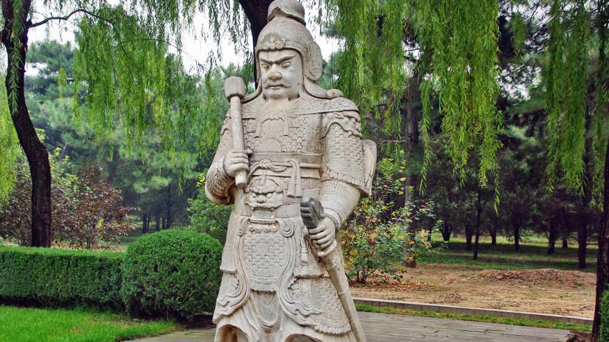 Ming Tomb Statue