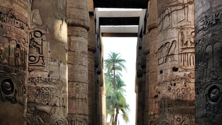 marvel at the hieroglyphs