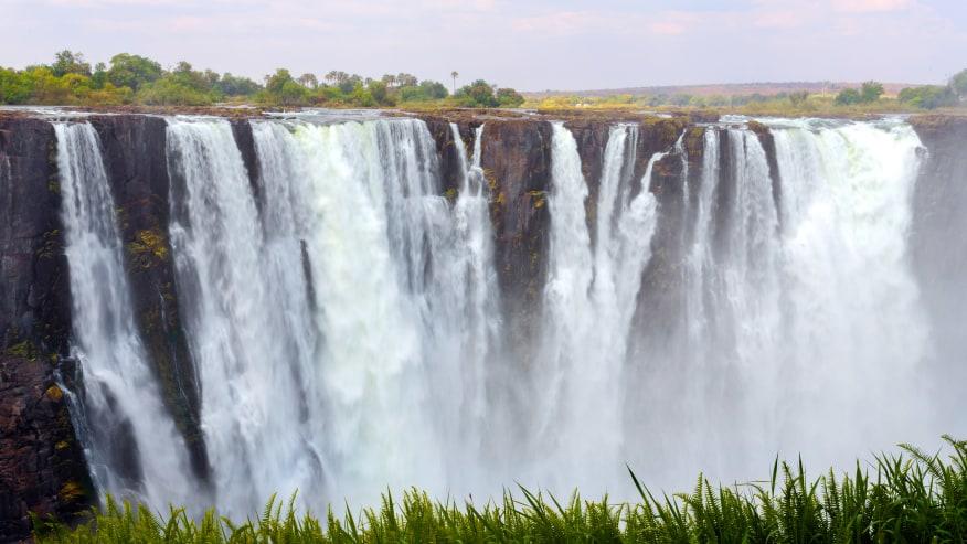 Mighty Victioria Falls