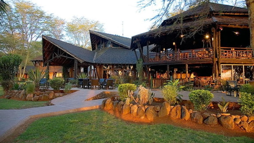 Oltukai Lodge, front View; ideal Kenya Luxury game lodges tours