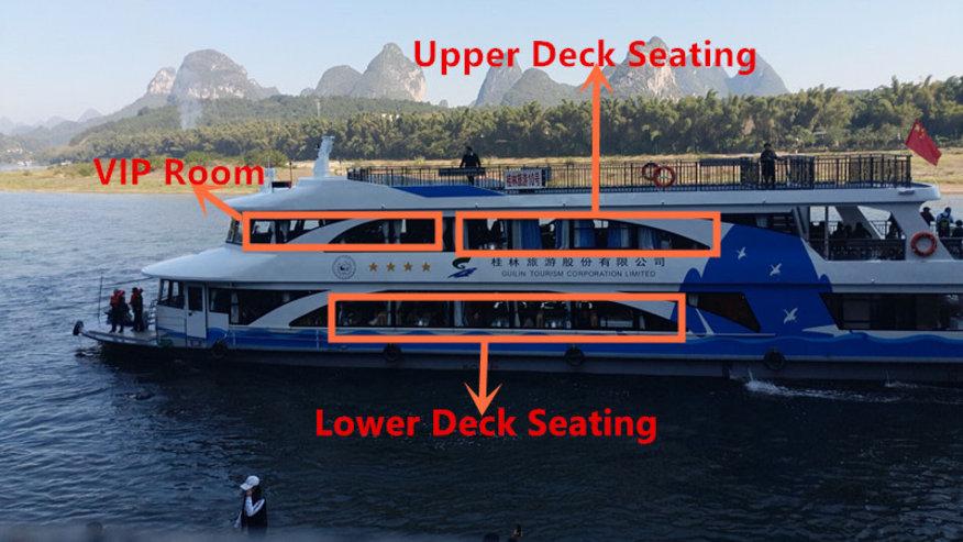 The Li-River boat