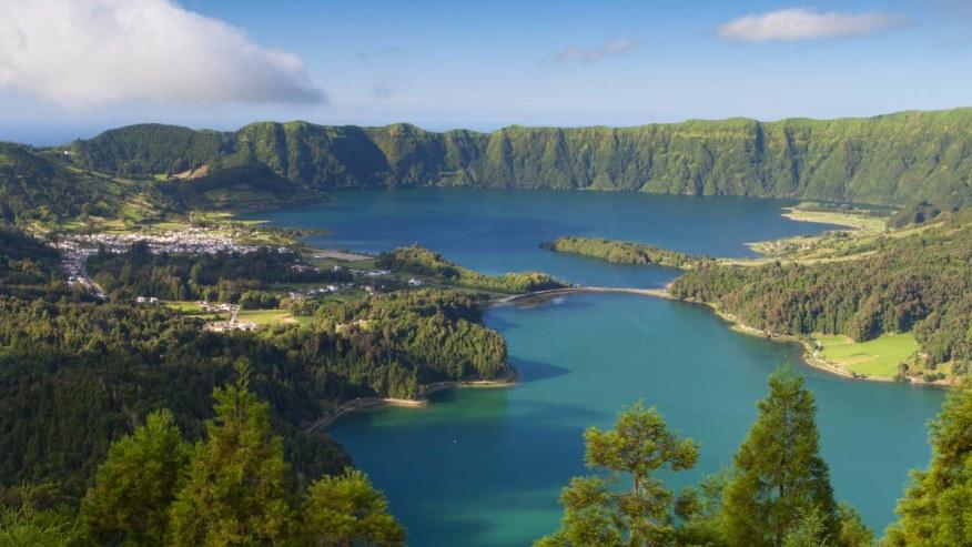Behold The Twin Lake of Lagoa das Sete Cidades