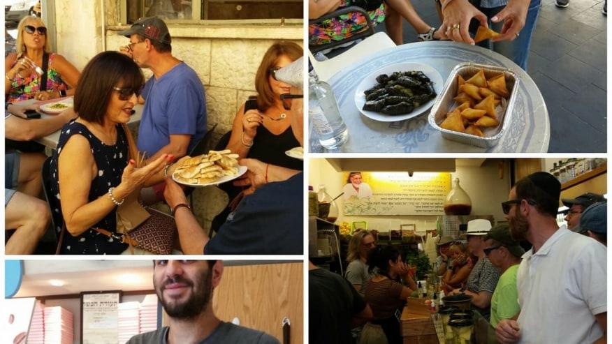 Taste street food as you roam around the market