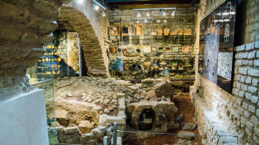 Underground Catacombs tour