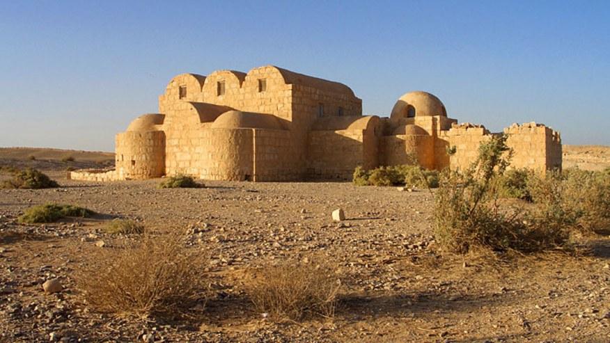 Marvel at the Desert Castle
