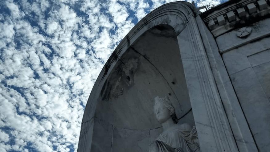 Italian Society Tomb