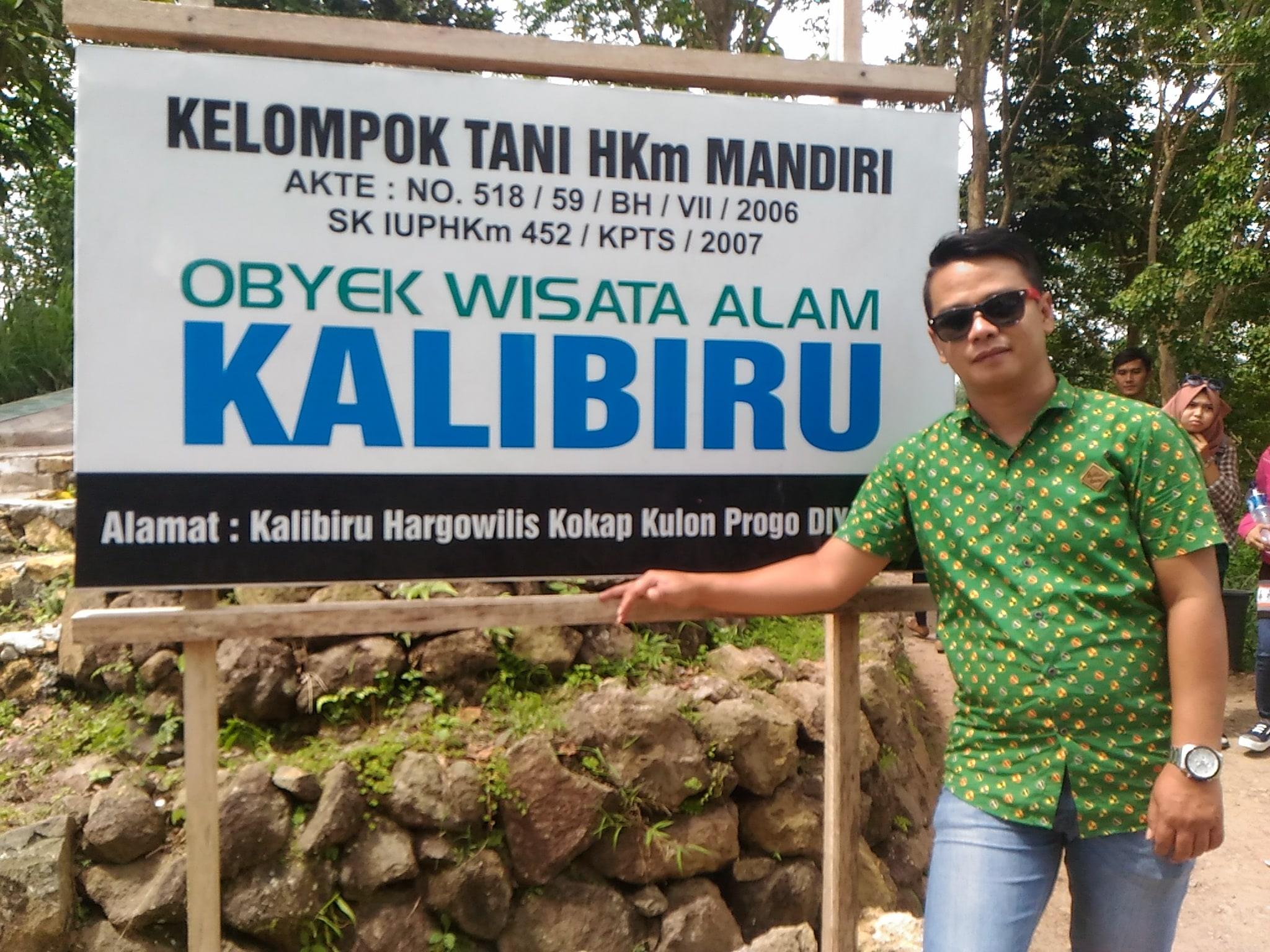 Kalibiru National Park of Yogyakarta