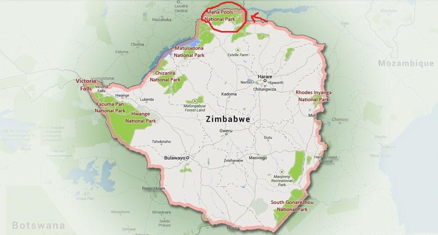 MANA POOLS NATIONAL PARK, ZIMBABWE.