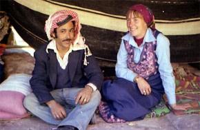 Casada con un beduino en Petra.