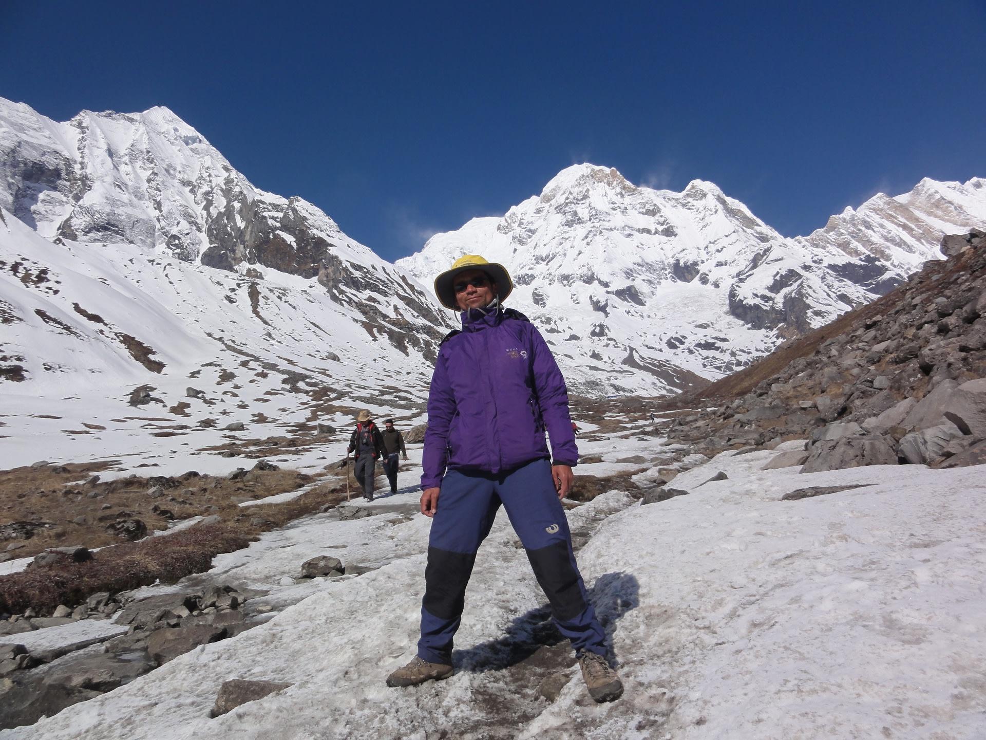 Trekking the Mt. Everest